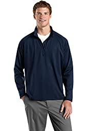 Sport-Tek Men\'s Sport Wick Stretch 1/2 Zip Pullover L True Navy