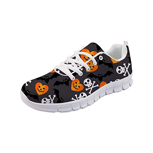 Lightweight for Women Unisex Sneakers Running Halloween Coloranimal Men Road 3 Lace Up Footwear wIxdSfq