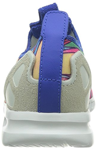 Slip ADV Smooth Flux Multicolore On adidas ZX Bianco Donna 7IqfRwHCBv