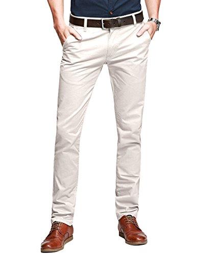Tapered Pantalon pinkish Rosatre Chino 8118 Homme Slim Match 8025 1q5xvRw