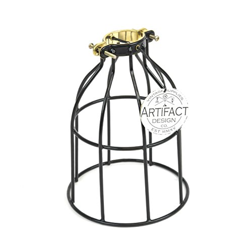 ceiling fan cage light - 9