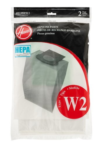 Hoover Genus W2 HEPA Bag (2-Pack), 401080W2