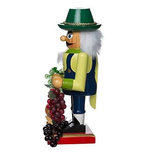 Kurt Adler Wooden Winemaker Nutcracker, 10.25-Inch by Kurt Adler (Image #4)