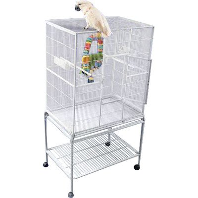 A&E CAGE CO 32-Inch by 21-Inch Flight Cage and Stand by A&E Cage Co.