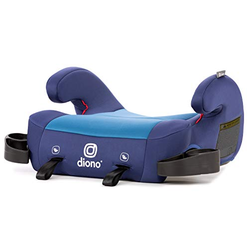Diono Solana 2 No-Back Child Booster Seat, Blue