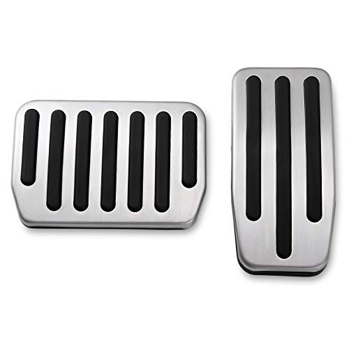 Non-Slip Performance Foot Pedal Pads,Auto Aluminum Pedal Covers fit Tesla Model 3