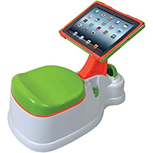 CTA Digital PAD-POTTY accesorio para dispositivo de mano - Accesorio para dispositivos portátil (Verde, Naranja, Color blanco)