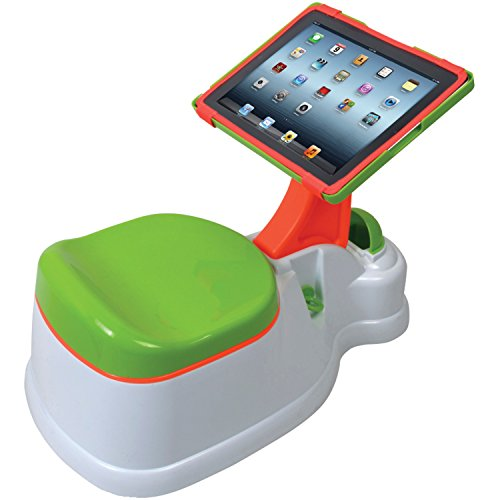 CTA Digital 2-in-1 iPotty with Activity Seat for iPad Potty Time Chair