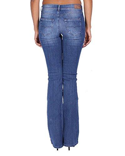 857p Diesel Lowleeh Jeans Blu Bootcut Slim Dona Da rPqawxp8P