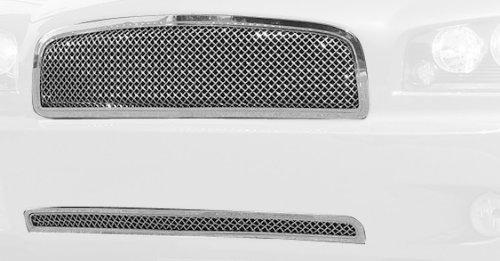 T-Rex 80474 HYBRID Series Aluminum Mesh Chrome Grille - Series Grille Mesh Hybrid