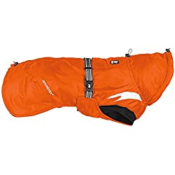 Hurtta Summit Parka Dog Winter Coat, Orange, 14 in