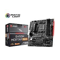 MSI B450M MORTAR MAX M-ATX マザーボード [AMD B450チッ...