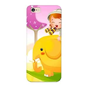 (1603cb53014)durable Protection Case Cover With Design For Iphone 6 Plus(cartoon Background)