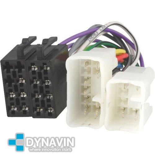 ISO-TOY.01 - Connettore ISO universale per l' installazione di autoradio in Toyota, Lexus, Daihatsu Dynavin