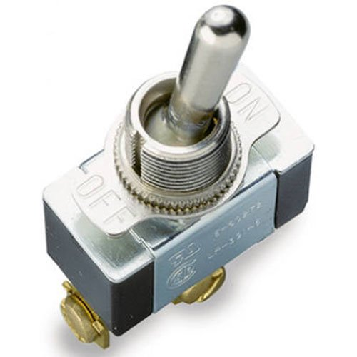 Gardner Bender GSW-11 Heavy-Duty Toggle Switch, SPST, ON-OFF, ¾ HP 125-250 V AC, for Replacement Industrial Equipment / Emergency Lighting & More