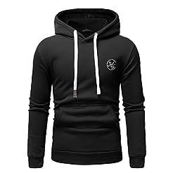 MODOQO Pullover Sweatshirt for Men, Long...
