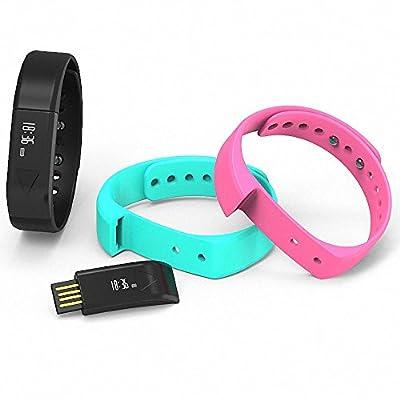LQM I5 Smart Bracelet Bluetooth 4.0 Fitness Tracker Health Sport Wristband Sleep Monitor