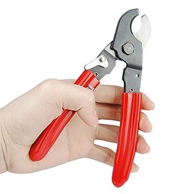 DERUI HS-206 Mini Design Cable Cutter Wire Cutter Tool Cut Up To 35mm2