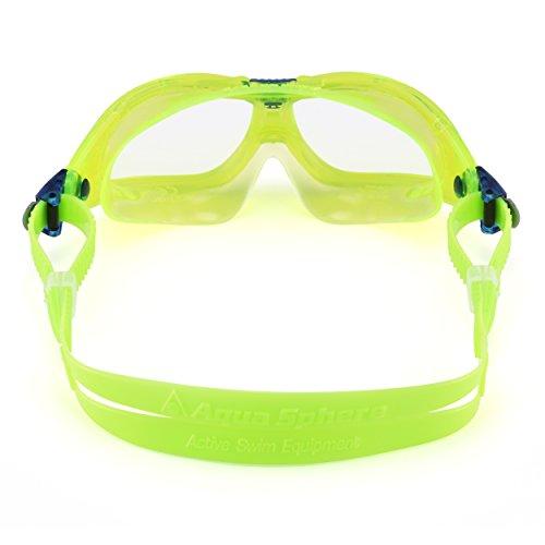 Aqua Sphere Seal 2 Masque de natation pour enfant Verres bleus Citron Vert/Bleu