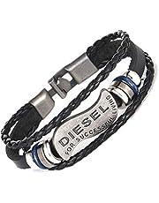 Diesel Men Bracelet from leather