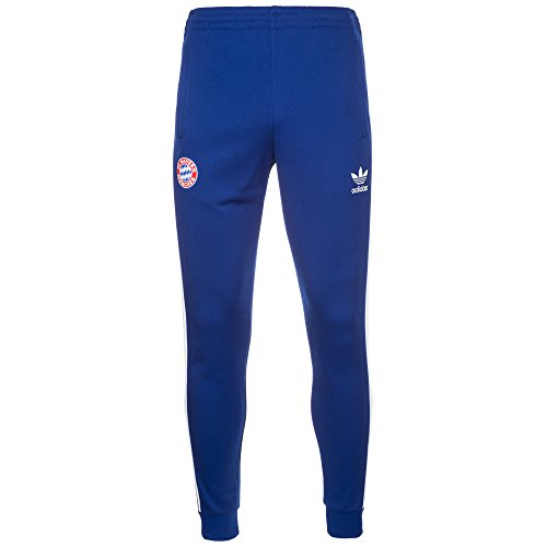 Adidas Bayern TP Pantalone Da Tuta Collegiate Royal Uomo Blu, XL