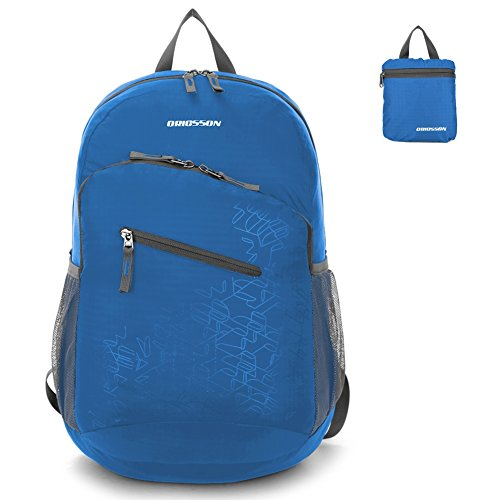 [ORICSSON 20L Women and Men Durable Lightweight Daypack Packable Water & Tear Resistant Backpack +] (Animal That Starts With J)