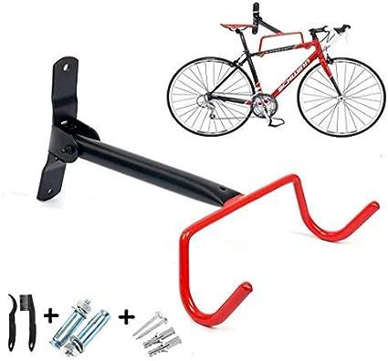 4 Pack Bicycle Wall Mount Hook Bike Adjustable Steel Garage Storage Hanger Rack