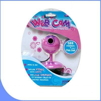 All Pink Girl Gear VGA Webcam PLUS Barbie Digital Photo Keychain BigVALUEInc Pink Power Saver Bundle by BVI (Image #1)