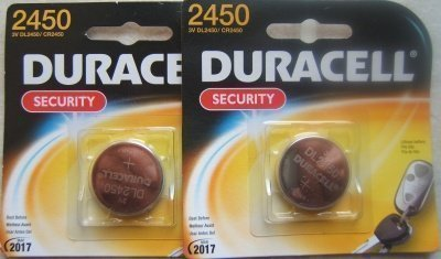 - Duracell DL2450 (CR2450) 3V Lithium Batteries. Two Packages -1 battery each package.
