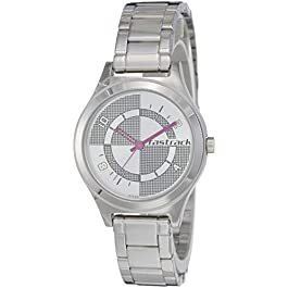 Fastrack Analog Silver Dial Women's Watch NL6152SM01 / NL6152SM01