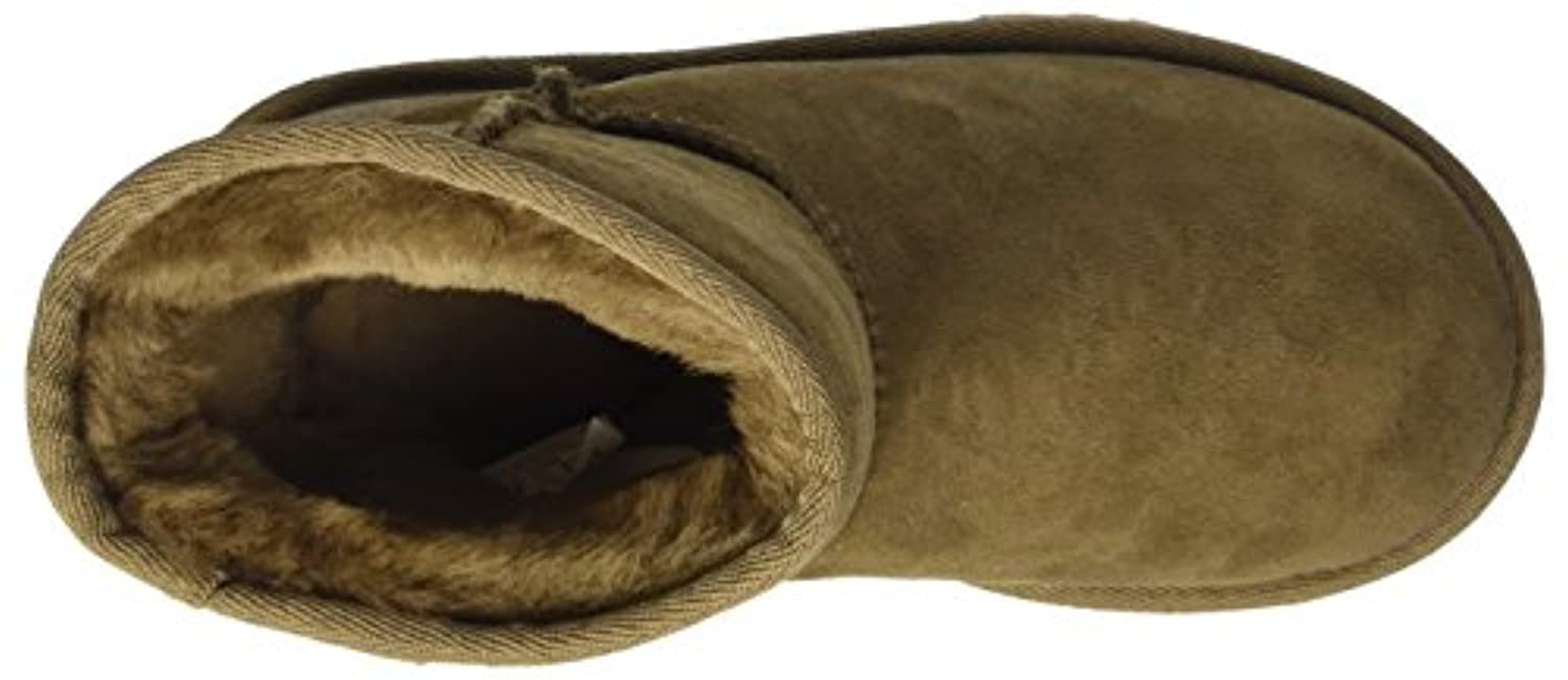 UGG Unisex Kids' Classic Ankle Boots, Brown (Dry Leaf), 5 UK