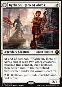 (Kytheon, Hero of Akros // Gideon, Battle-Forged - Foil - From the Vault: Transform)