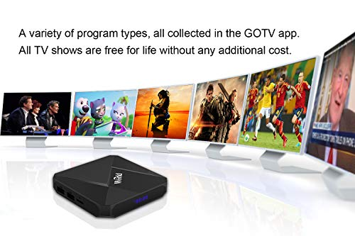 International IPTV Receiver Box with Life-time Subscription for 1600
