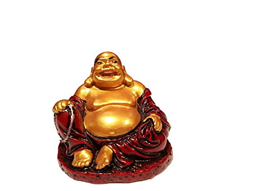 red resin buddha - 5