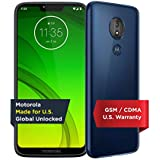 Moto G7 Power | Unlocked | Made for US by Motorola | 3/32GB | 12MP Camera | Blue