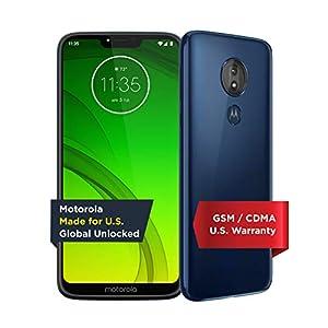 Motorola Moto G7 Power – Unlocked – 32 GB – Marine Blue (US Warranty) – Verizon, AT&T, T-Mobile, Sprint, Boost, Cricket…