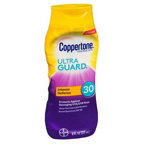 - Coppertone UltraGuard Sunscreen Lotion SPF 30 8 oz