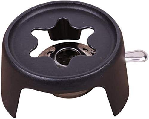 RJJ Fondue, poêle à Fondue de Fromage en Fonte Pot avec poêle et Une Fourchette, Melting-Pot Fromage/Chocolat for Le Plaisir Cuisine de Chocolat Fondue scones.