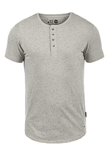 Chemise 2325 Grey Thai 100 Courtes Manches T À Homme solid shirt Light Pour Tunisien Coton YgqwSHYf