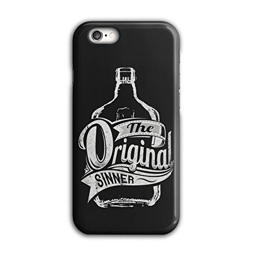 Vodka Bottle Design (Original Sinner Funny Rum Drunk iPhone 6 / 6S Case | Wellcoda)