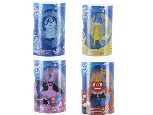 Disney/Pixar Inside Out 4 Piece Figure Set - Sadness, Joy, Anger and Bing Bong]()