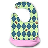Seahawks Seattle Football Argyle Baby Bibs Waterproof For Babies And Toddlers Easily Wipes Clean Comfortable Soft