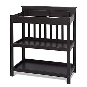 Child Craft Convertible Upscale Changing Table   Black   Nursery Furniture    Bedroom Furnitureu0027s   Draweru0027s