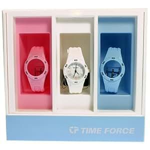 Time Force tf4130b10–Reloj de pulsera, correa de silicona
