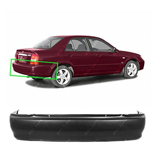 MBI AUTO - Primered, Rear Bumper Cover for 1999-2003 Mazda Protege Sedan 99-03, MA1100150