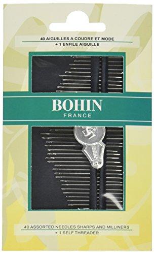 Bohin 05099 Milliners & Sharps Hand Needle Assortment - Milliners Hand Needles