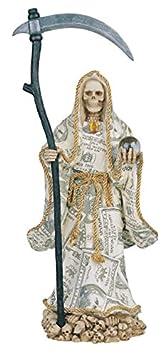 16 Inch Money Holy Death Statue La Santisima Santa Muerte Grim Reaper
