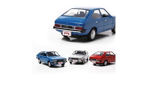 Mini Diecast 1:38 Scale Miniature Display Toy Pony Hyundai Motor Car