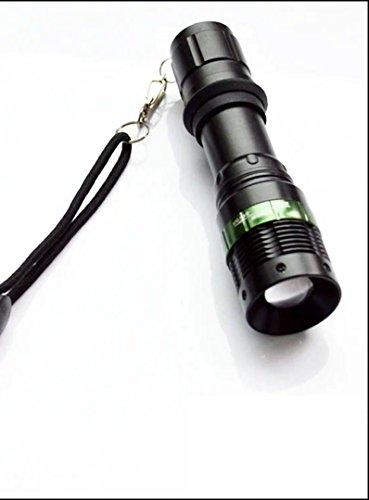 MAYOR WOLF Tactical LED Zoom Flashlight ()