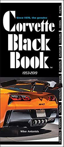 Black Book Car >> Corvette Black Book 2019 Edition